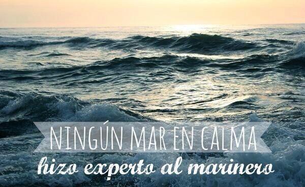 Ningun mar en calma